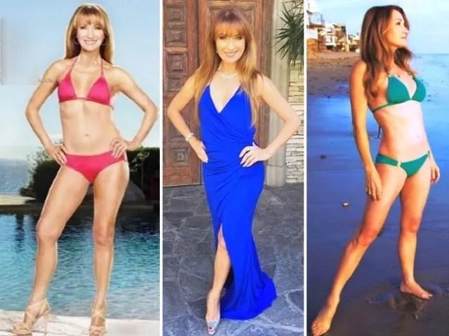 jane seymour bikini diet workout