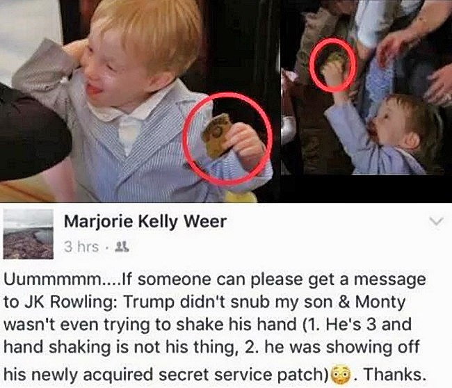 JK Rowling apologizes for tweets claiming Trump ignored disabled boy