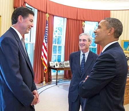 robert mueller friends james comey obama trey gowdy