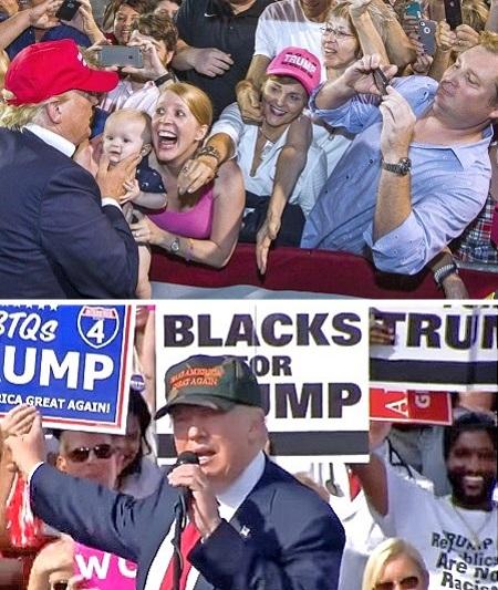 trump campaign donations