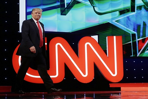 Donald Trump Challenges CNN International Coverage for Spreading 'Fake News'