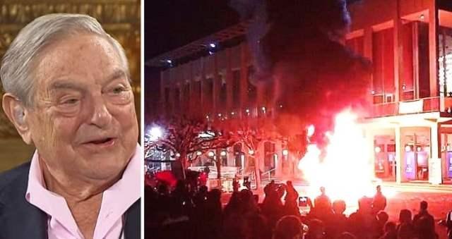 SG george soros blm riots antifa