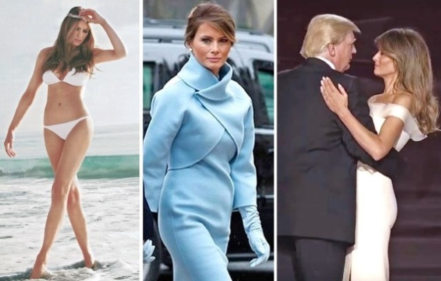 melania trump first lady bikini maxine waters