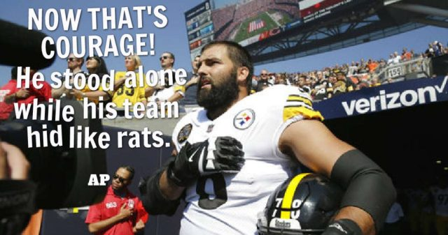 Pittsburgh Steelers Alejandro Villanueva army vet west point grad