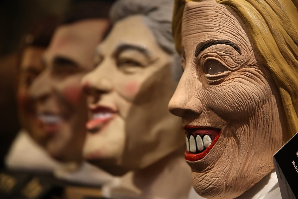 Hillary Clinton: I'm thinking of dressing up as the president for Halloween