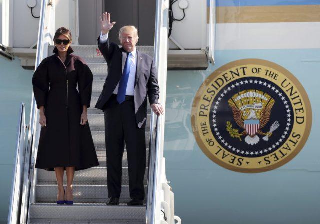 AP Donald Trump, Melania Trump