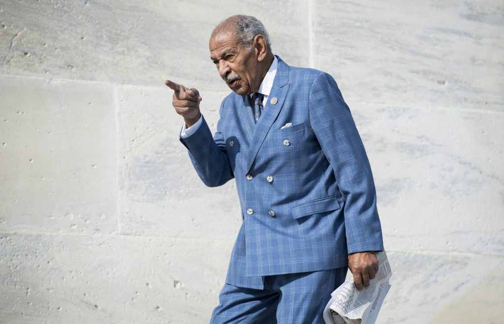 Conyers faced mounting sexual misconduct allegations as he weighed his future