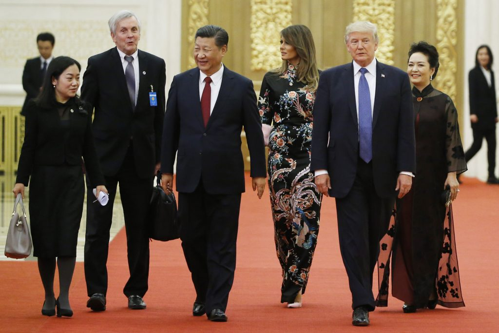 Trump China Asia Photo Showcase