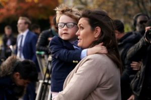 Sarah Sanders' very public dig at Amazon over 2-year-old son's Batman toy order irks critics