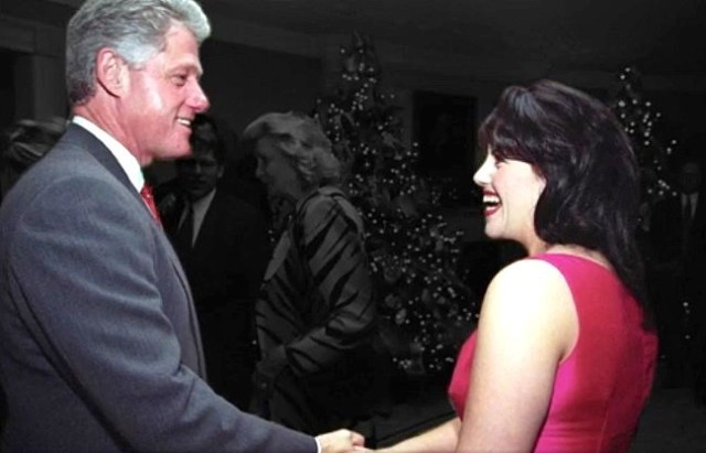 monica lewinsky bill clinton white house