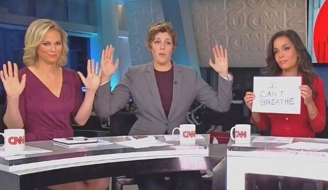 "CNN pushed the fake ""Hands Up, Don't Shoot"""