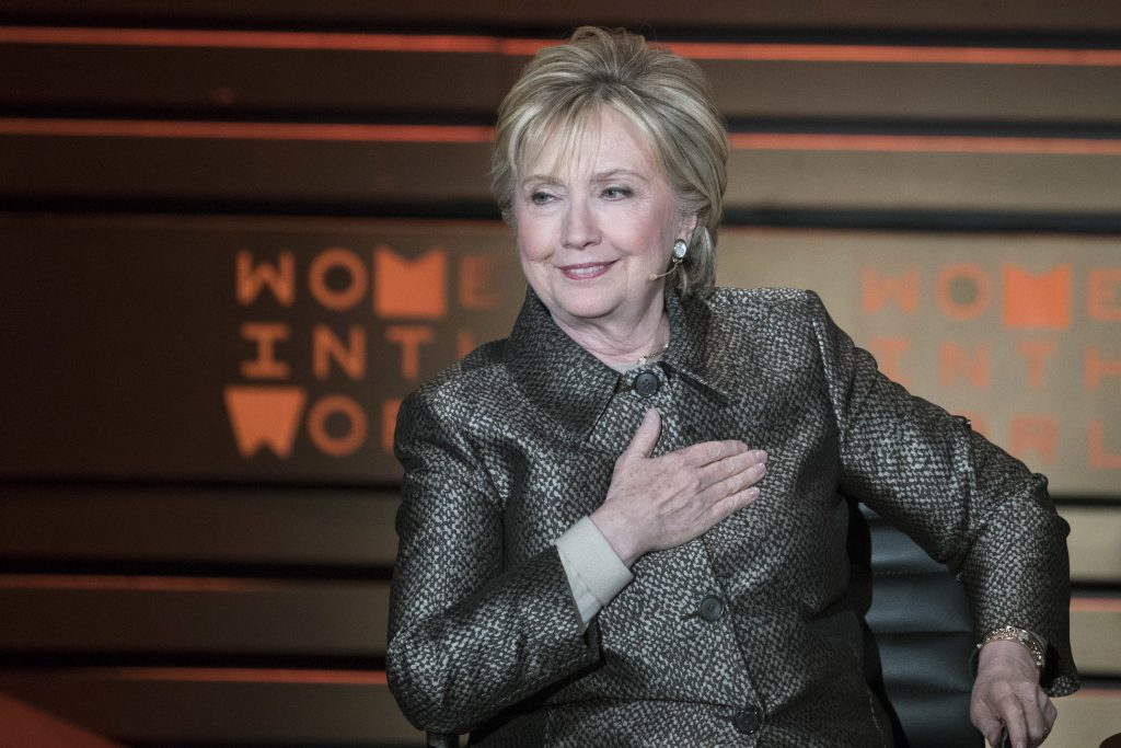 Hillary Clinton Thanks 'Activist B*tches Supporting B*tches'