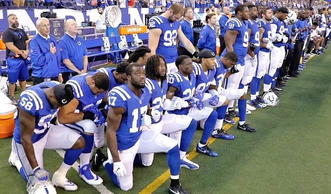 IN Legislator Wants Refunds for NFL Fans Offended by Protests