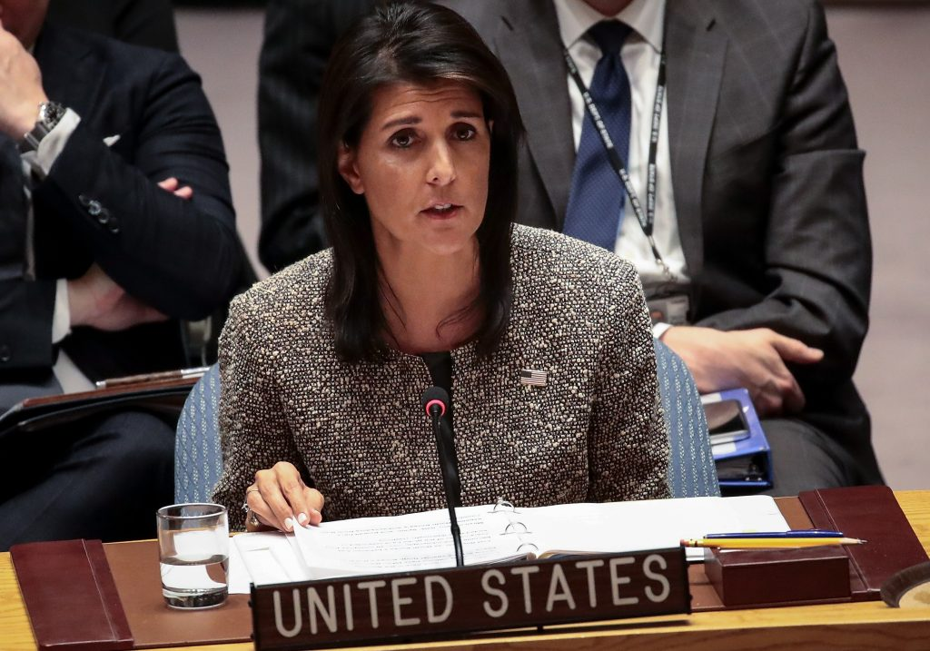 US to make $285m cut to UN budget after vote on Jerusalem