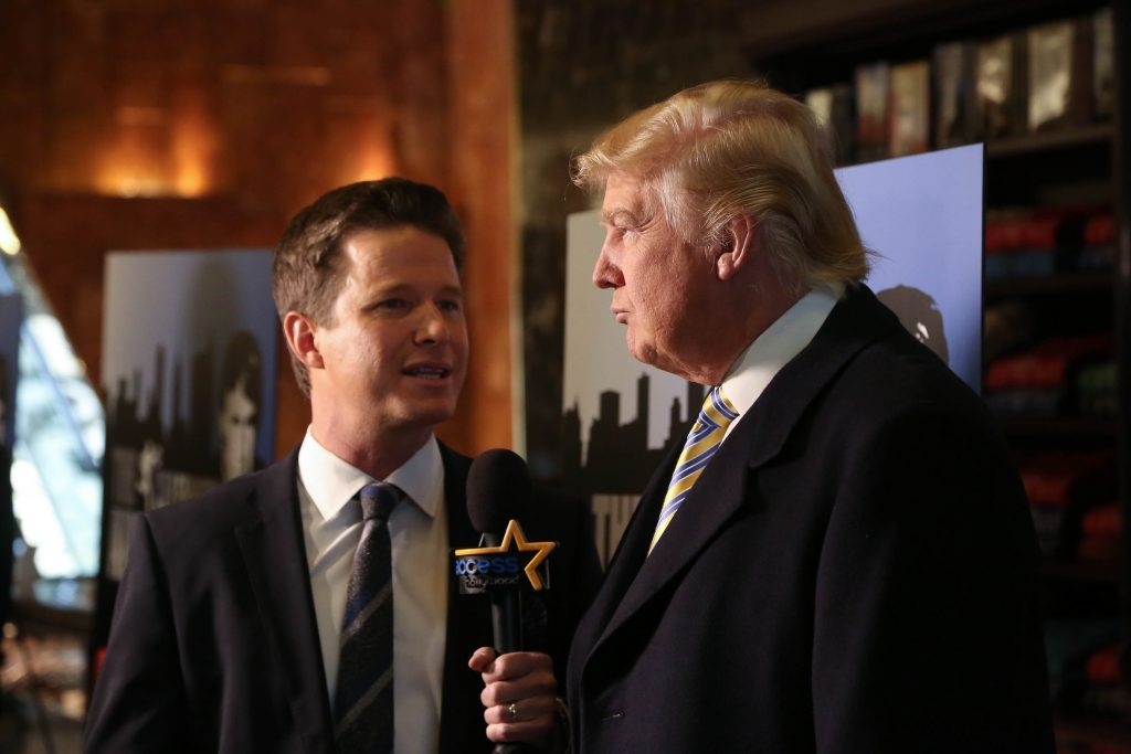 Billy Bush Told Stephen Colbert the Full Access Hollywood Tape Story