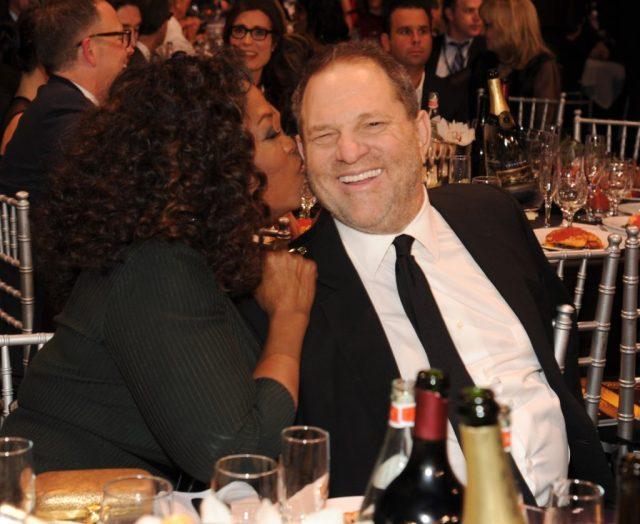 Oprah, Harvey Weinstein
