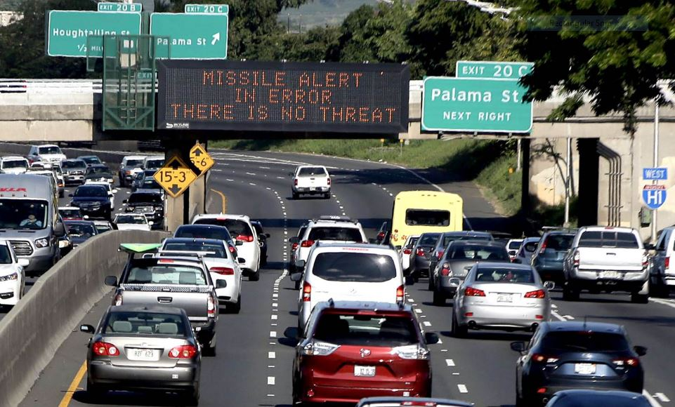 Hawaii worker fired after false missile alert; Emergency management leader resigns