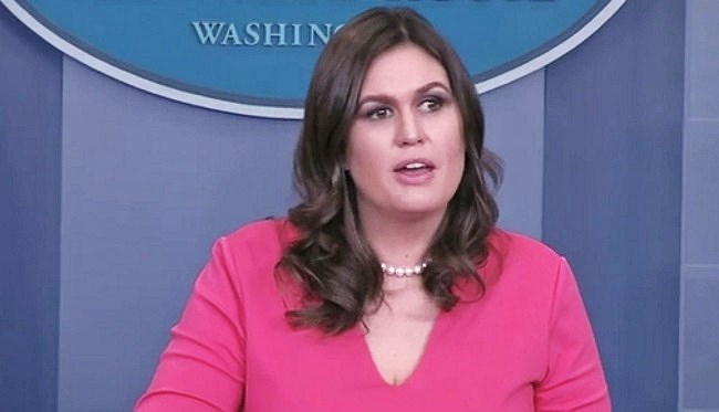 Huckabee Sanders Trashes Flake Over Senate Speech: He's 'Looking for Attention'