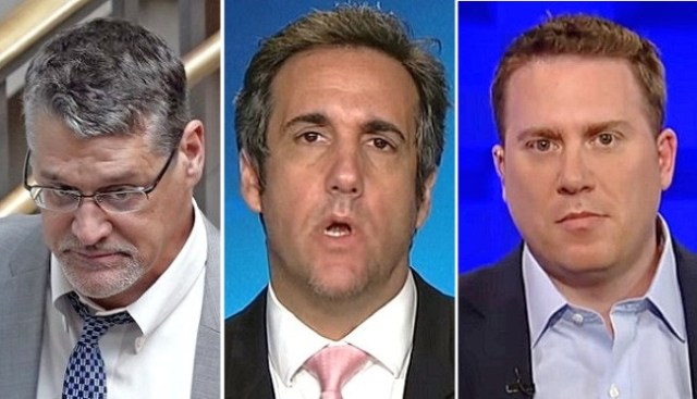 Trump attorney Michael Cohen filed a $100 million defamation lawsuit against Fusion GPS co-founder Glenn Simpson and a separate defamation suit against BuzzFeed editor Ben Smith