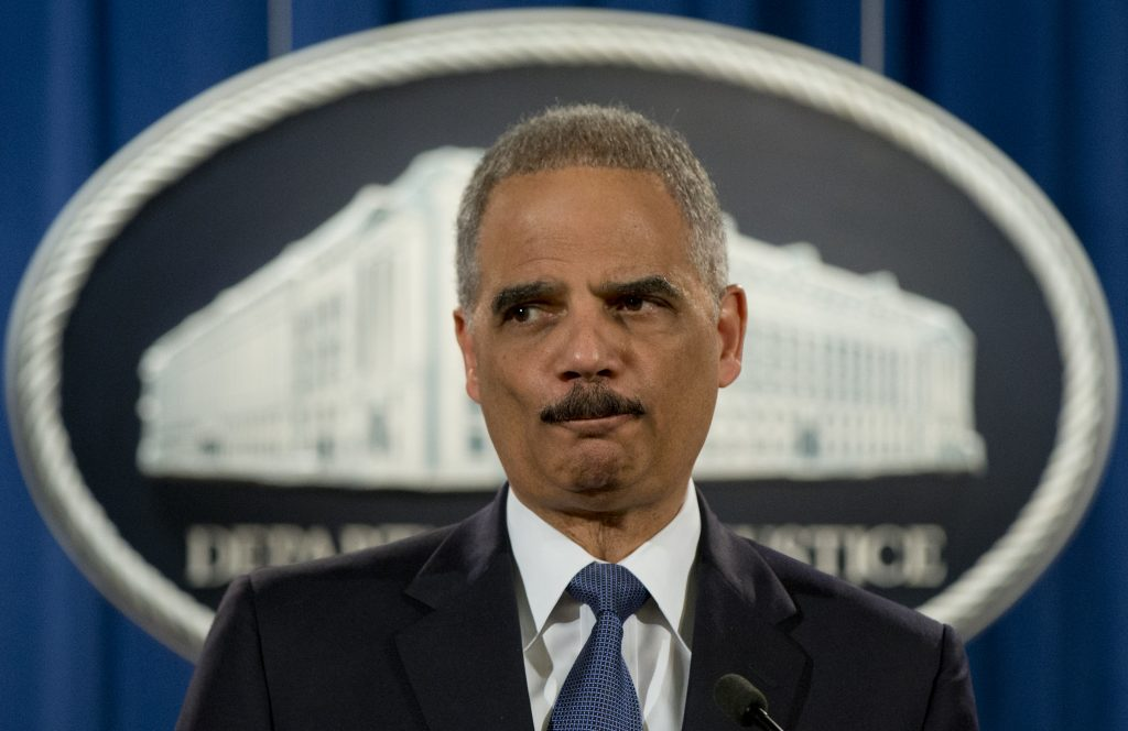 Holder: 'Technical' case of obstruction of justice could be made against Trump