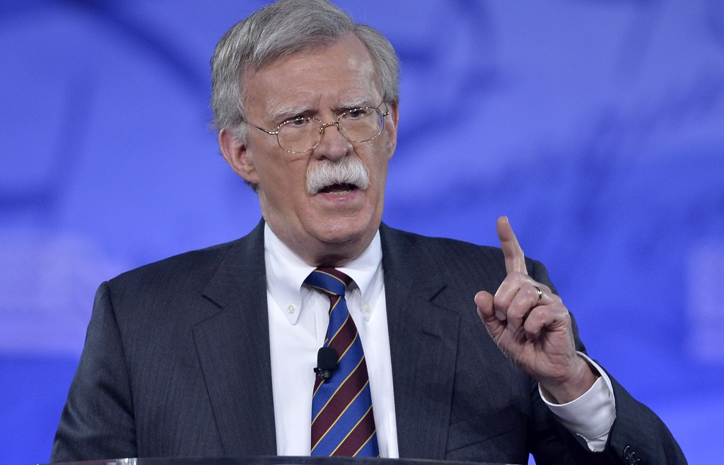 John Bolton could help with Taiwan-US visits