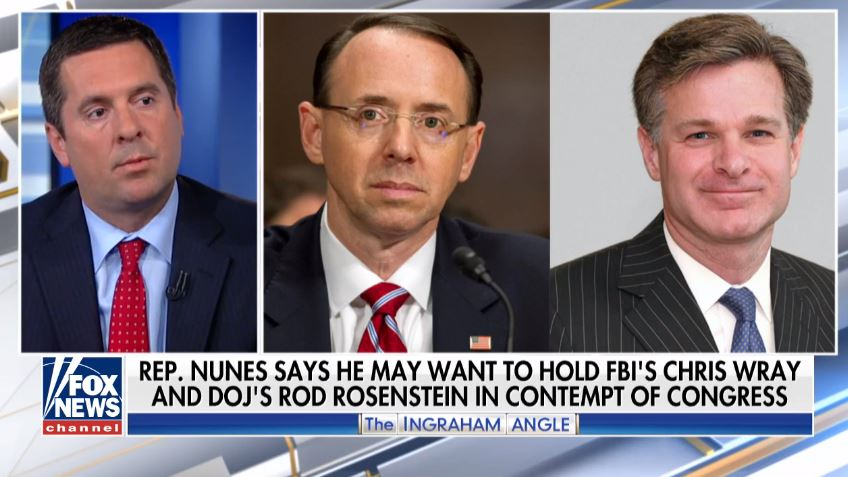 DOJ Shows Lawmakers The Document That Started FBI's Russia Probe