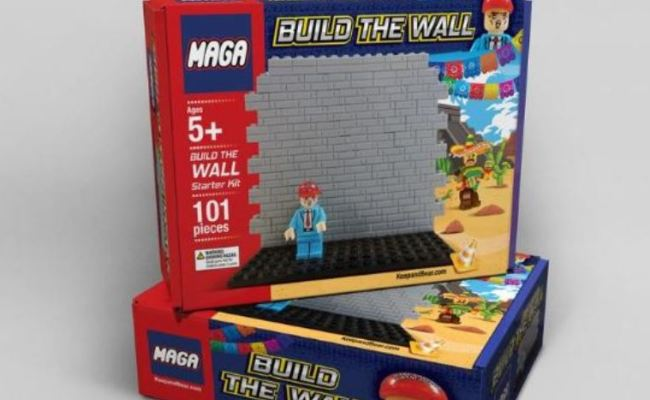 Build The Wall Kit Just One Of Many Novelties Among