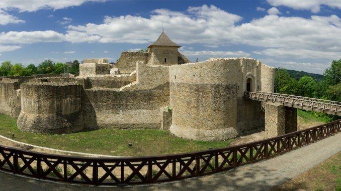 Cetatea de Scaun a Sucevei. FOTO CJ Suceava