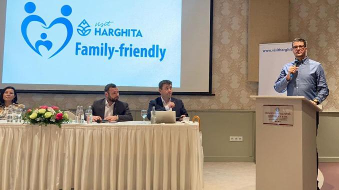 Conferința Visit Harghita Family Friendly. FOTO CJ Harghita