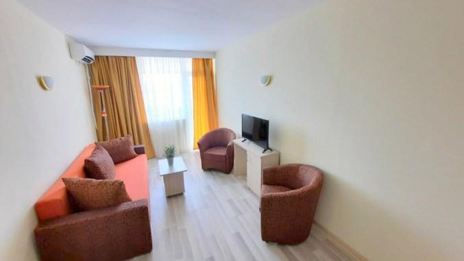 Cameră de hotel pe litoralul românesc. FOTO Innovation Travel