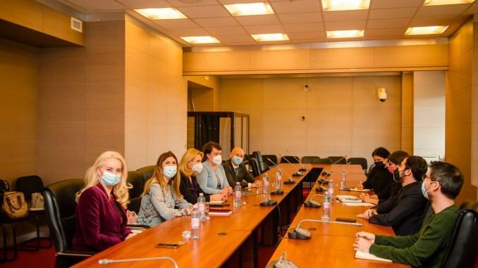 Întâlnirea ministrului Claudiu Năsui cu reprezentanții UGIR. FOTO MEAT