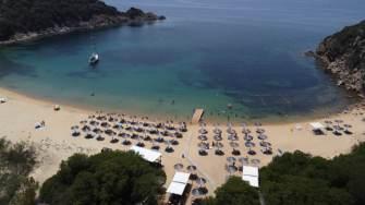 Insula Ammouliani din Grecia. FOTO Ovidiu Oprea