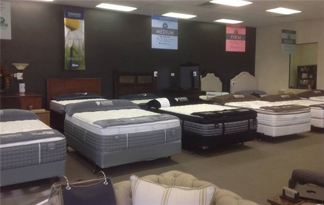 Ideal Furniture Mattress Distribution Center Featuring Simmons