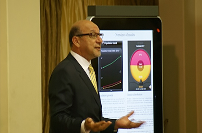 Trevor Manuel, South African Minister in the Presidency for National Planning Commission
