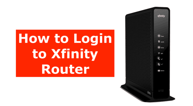 How to login to Xfinity Router  A Beginner Guide in 29