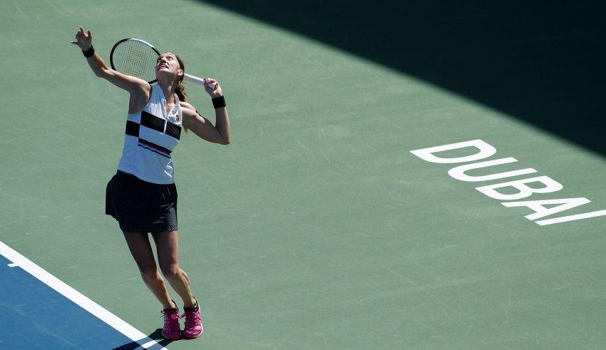 Former Champions Simona Halep and Petra Kvitova reach Dubai Duty