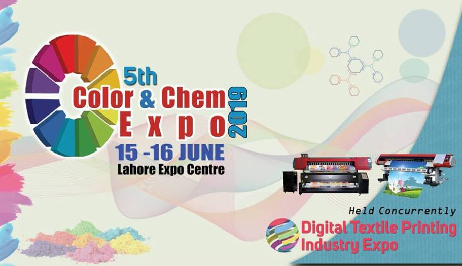 5th Color & Chem Expo to be held from mid June in Lahore