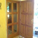 Kazettás fa ajtó