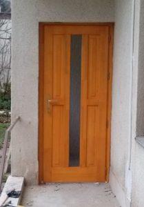 Rákoshegy fa bejárati ajtócsere