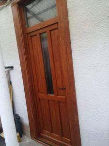 Szentimreváros fa bejárati ajtócsere