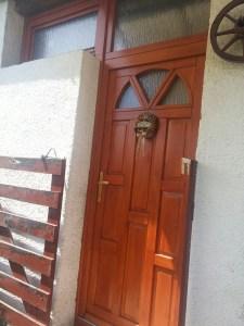 Csepel-Királyerdő fa bejárati ajtócsere
