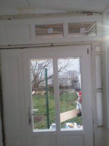 Hosszúrét fa bejárati ajtócsere