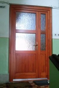Káposztásmegyer fa bejárati ajtócsere