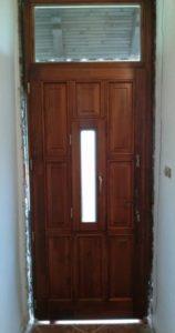 Lipótváros fa bejárati ajtócsere