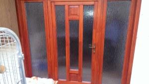 Népliget fa bejárati ajtócsere