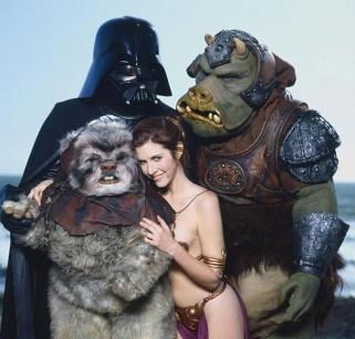 """10 foto vintage di Carrie Fisher mentre promuove """"Il Ritorno dello Jedi"""", nel 1983"""