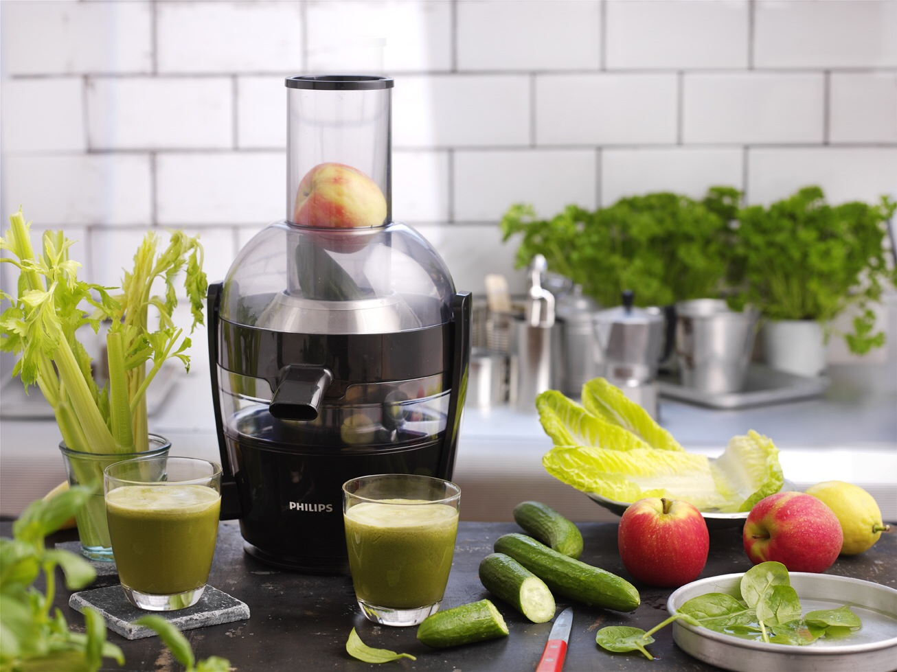 Learning to juice with the Philips Viva Collection Compact