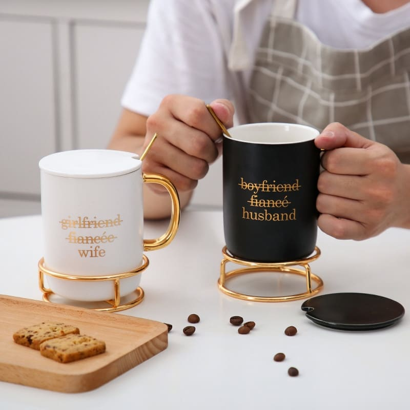 endless love coffee cup
