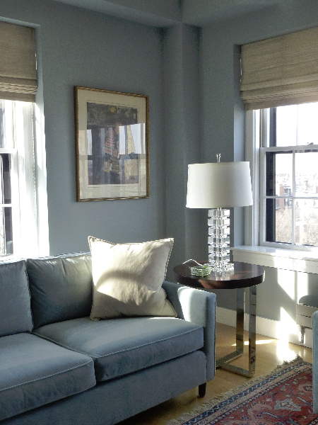 Color design - interior - living room