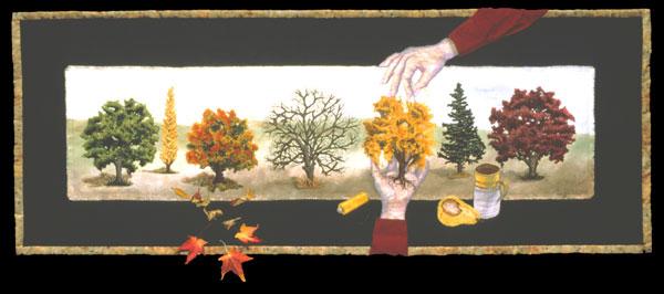 Seasonal Spectrum ~ by B. J. Adams